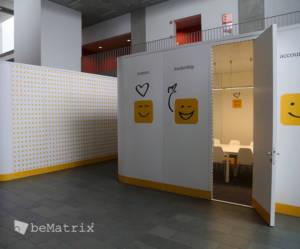 pop-up meeting room