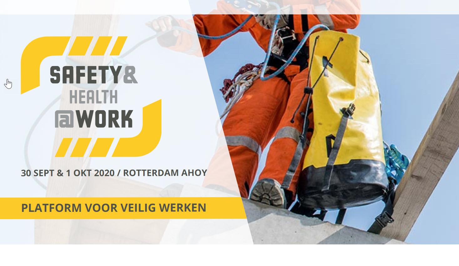 Safety Health at Work Ahoy Rotterdam