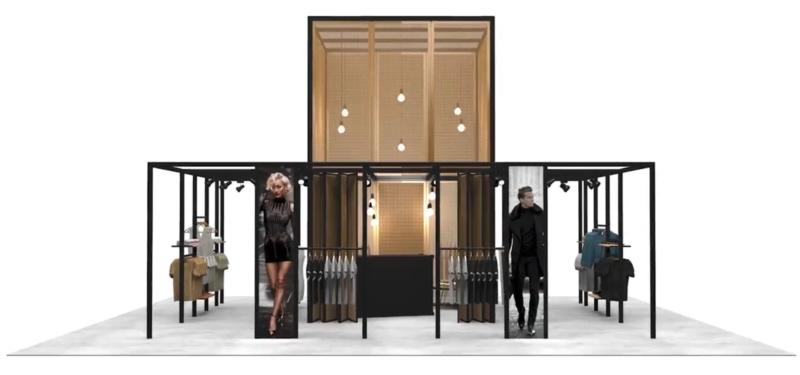 beMatrix pop-IN retail interior